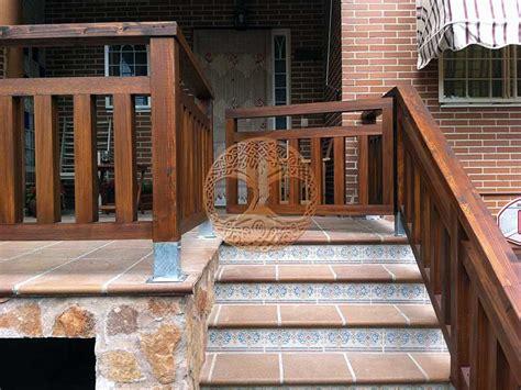 barandilla de madera exterior vallas de madera en madrid desde 60 el m2