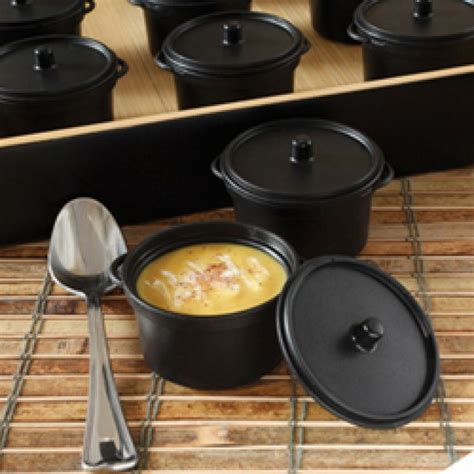 Mini Cooking Pot mini catering supplies 2 7 oz mini cooking pot with lid