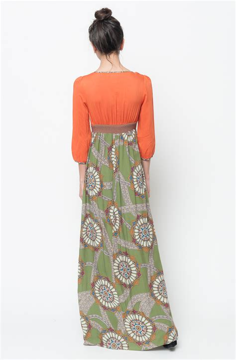buy multi color maxi dress for on sale at