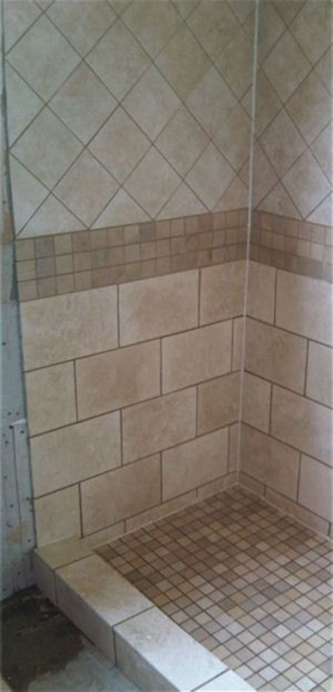 bathroom tile layout ideas shower tile design like to use the 2x2 mosaic floor and tile beneath accent could use same