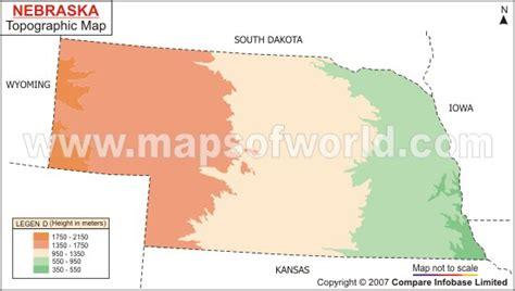 nebraska topographic map