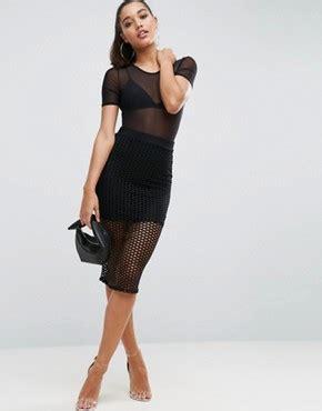 lavish lavish pencil skirt with knot front simple pencil skirts shop for pencil skirts asos