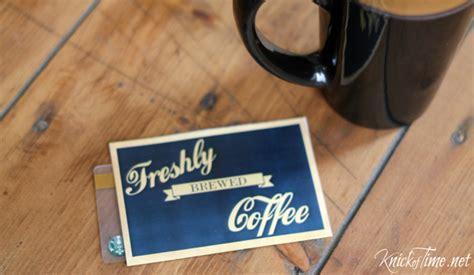How To Fold Starbucks Gift Card Holder - beverage station printables via knickoftime net