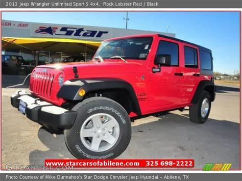 Rock Lobster Jeep 2013 Wrangler Unlimited Sport S 4x4 Rock Lobster Black