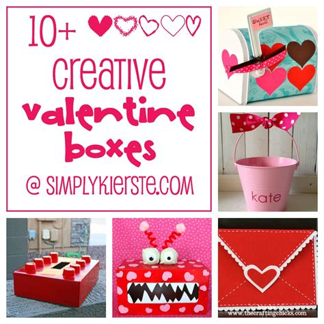crafts for s day boxes for school