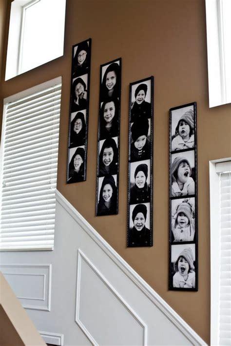 Fotowand Im Flur Gestalten by 1001 Ideen F 252 R Fotowand Interessante Wandgestaltung