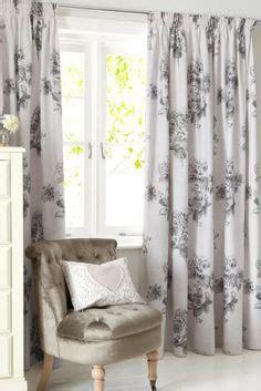 next online curtains buy cotton rich woodblock leaf pencil pleat curtains