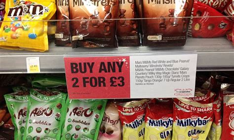 supermarket bogof deals means shoppers end up spending an 163 1 274 a year daily mail
