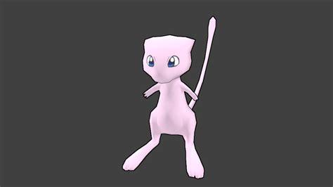 2 on pokemonnowandforever deviantart mew 3d render by felivans on deviantart