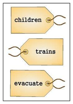 printable evacuee label 1000 images about world war 2 classrooms on pinterest