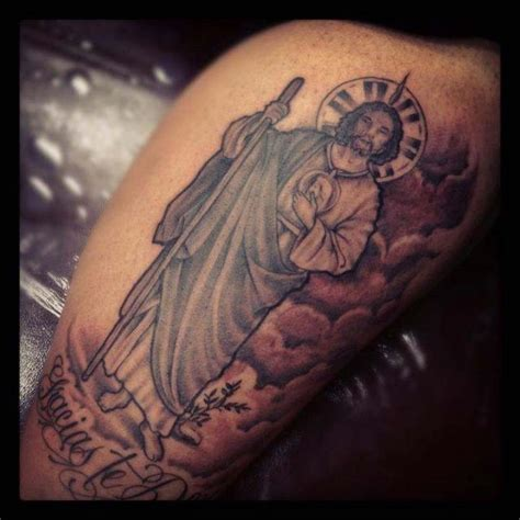 san judas tadeo tattoo san judas tadeo tattoos and tattos