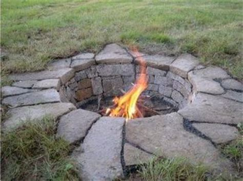 In Ground Fire Pit For My Backyard Juxtapost In Ground Firepit
