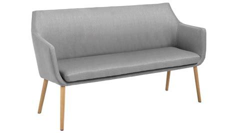 helles sofa sofa nora sofabank in vintage stoff corsica hell grau eiche