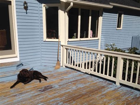 paint color for wood deck