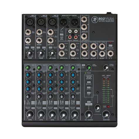 Audio Mixer Monitor Audio Em8 8channel mackie 802 vlz4 171 mischpult