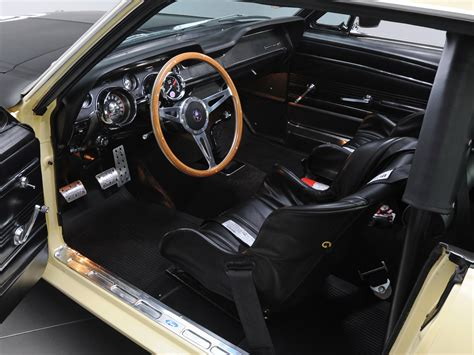muscle car upholstery 1967 ford mustang coupe race car 65b racing muscle classic
