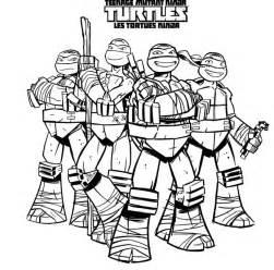 coloriage 195 dessiner tortue ninja shredder