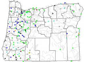 Map Of Oregon Rivers by Oregon Lake Map River Map And Water Resources