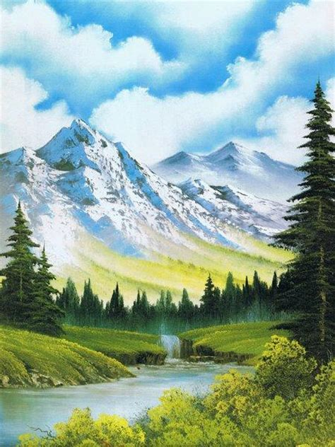 are bob ross paintings bob ross paintings