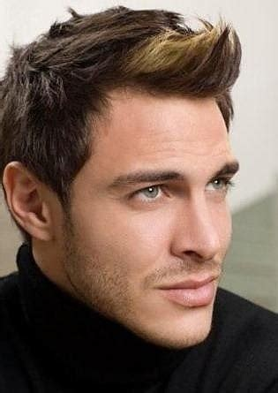 mens spiked hairstyles with blonde highlights caramel highlights for men hairstyle for men