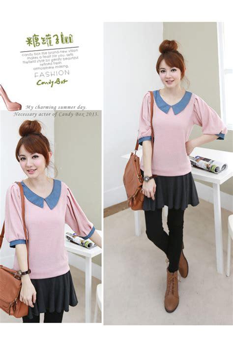 Blouse Import Murah A30717 Pink blouse wanita import cantik 2013 model terbaru jual