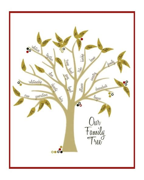 pinterest crafts family tree