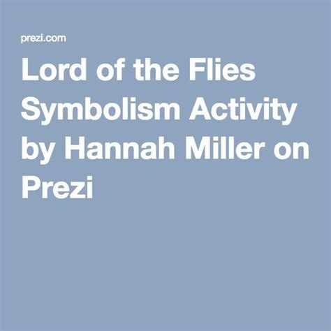 symbols in lord of the flies worksheet 85 best teaching lord of the flies images on pinterest