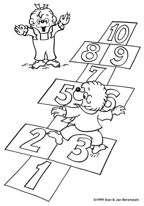 berenstain bear coloring page berenstain bears coloring pages coloringpagesabc com