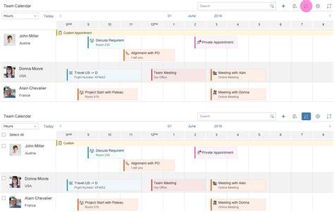 Planning Calendar Planning Calendar Sap Fiori Design Guidelines
