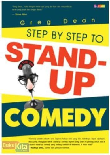 bukukita step by step to stand up comedy