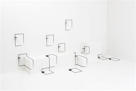 nendo design instagram border table by nendo explores furniture space