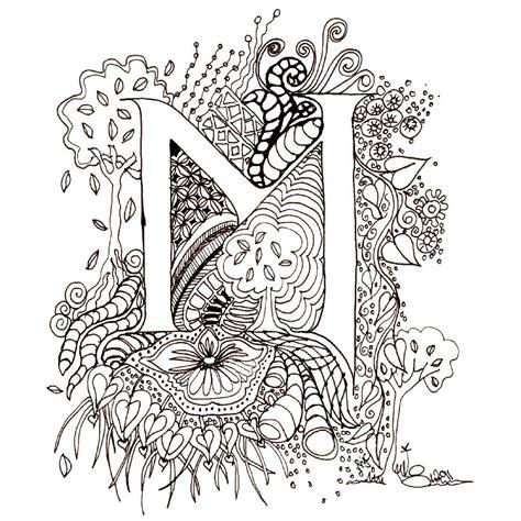 printable illuminated letters alphabet printable illuminated letters monogram initial colour