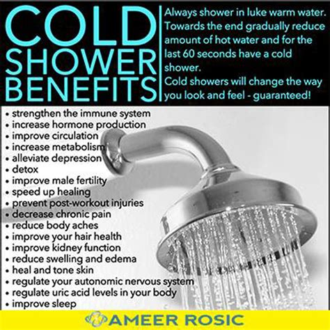 Cold Showers Vs Showers by Cold Shower Therapy