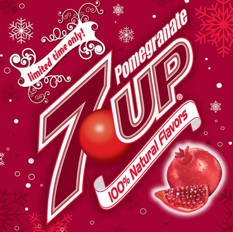 Celebrate The Holidays With Pomegranate 7up by 7up Popsugar Food