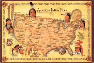 map of american tribes in the united states american indian tribes it all