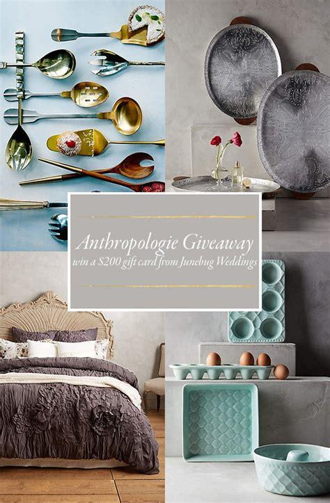 Anthropologie Giveaway - anthropologie giveaway junebug weddings