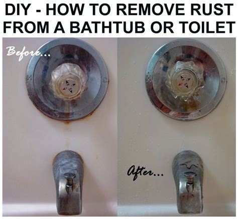 how to remove rust from bathtub 17 best images about cleaning on pinterest stains clean