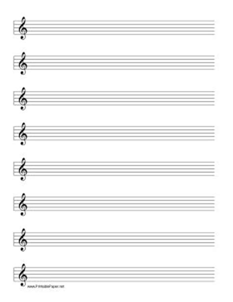 printable wide staff paper this manuscript paper includes eight rows of five line
