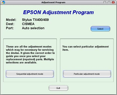 download resetter r230 adjustment download free software epson adjustment program r230