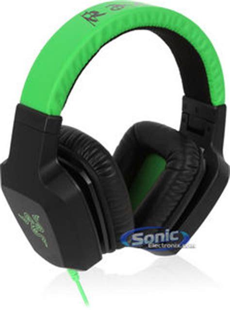 Baru Headset Razer Electra razer electra ear pc headset stereo headphones green