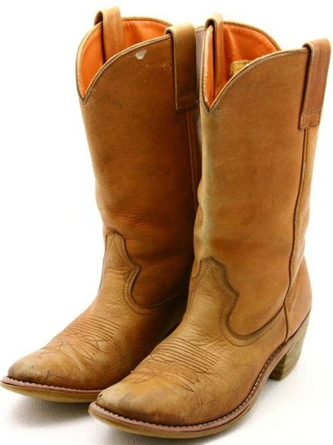 mens work cowboy boots steer mens cowboy boots size 9 5 leather work