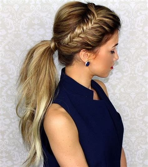 25 best ideas about formal ponytail on best 25 bridesmaid ponytail ideas on prom