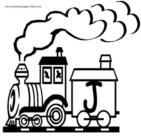abc train coloring page free train with letters coloring pages