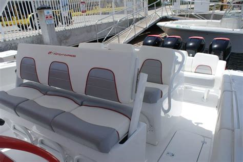 center console boat seat ideas ultimate center console 43 midnight express 300