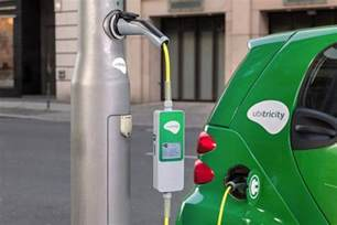 Electric Car Charging Station Cost Uk Bright Idea Lights Converted To Charge