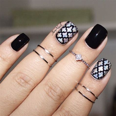 moroccan pattern nails 83 best stencil nailart images on pinterest decal