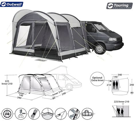 outwell country road awning outwell country road motorhome awning