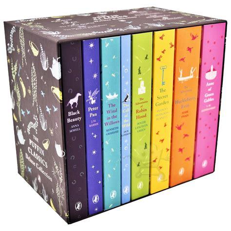 Puffin Classics the puffin classics deluxe collection 8 book boxset black