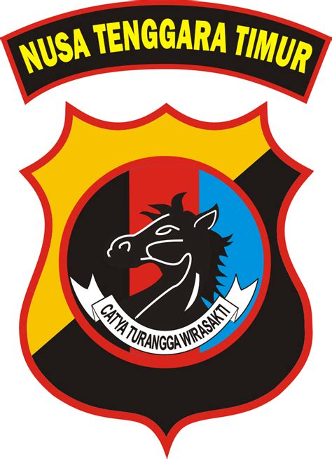 Bordiran Logo Simbol Militer Pisau logo polda ntt kumpulan logo indonesia