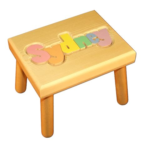 Puzzle Stools by Small Name Puzzle Stool In Primary Colors Damhorst Toys Puzzles Inc Store